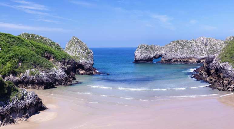 Imagen de la playa de prellezo