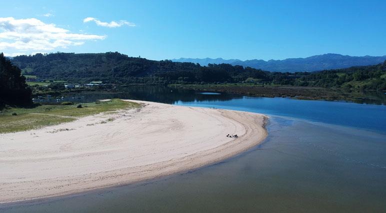 Imagen de la playa del sable