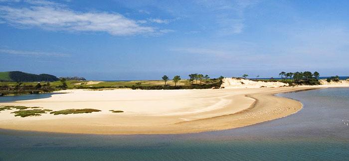 Playa de Oyambre, Parque Natural de Oyambre